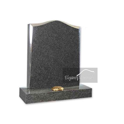 The Bromley Granite Headstone Britz Grey