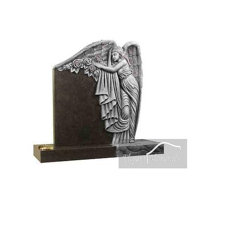 The Silverton Granite Headstone South African Dark Grey
