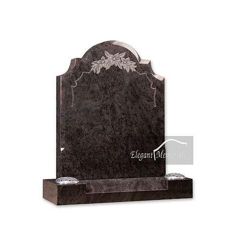 The Filey Granite Headstone Bahama Blue