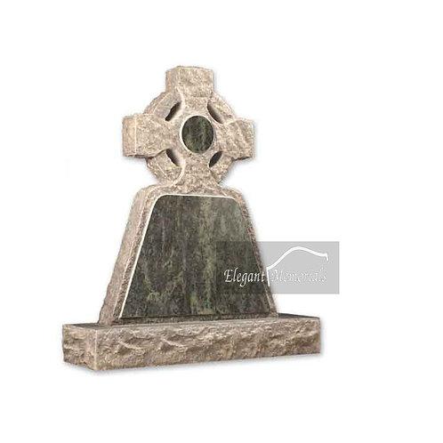 The Wadhurst Granite Headstone Tropical Green
