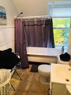 Bath room Lake view Suite North Hatley