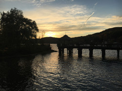 Sunset North Hatley