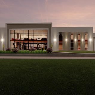 Katar Askeri Eğitim Binası