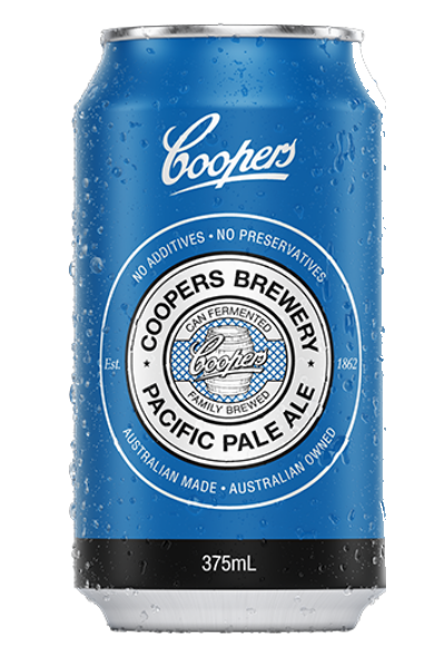 Coopers Pacific Pale Ale Cans 24x375mL 4.2%