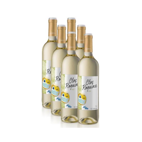 Coffret 6 bouteilles vin blanc