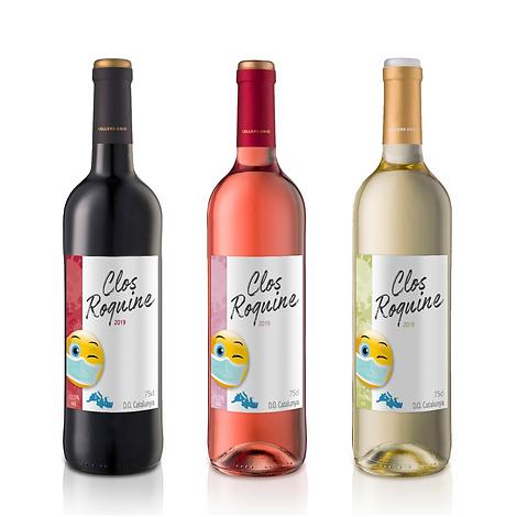 Ensemble vins Clos Roquine