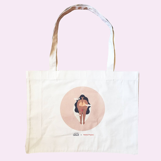 TOTE BAG PUSSY AGAINST PATRIARCHY