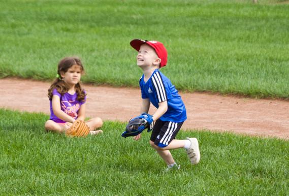 Softball is fun!