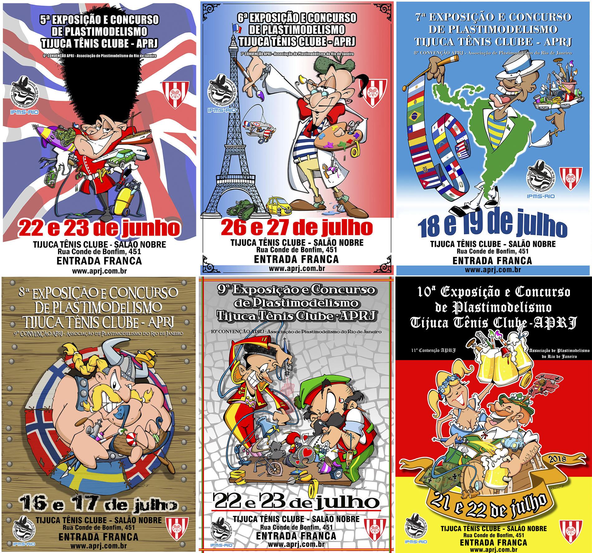 Cartaz APRJ  2013 à 2018