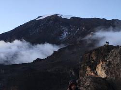 View of Kibo Peak