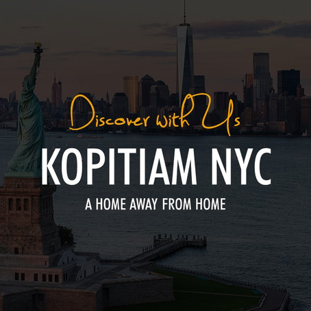[Discover with Us] Kopitiam NYC