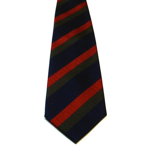 Black Watch Silk Non Crease Tie