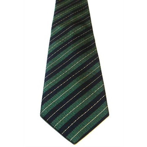 Queen's Royal Irish Hussars Silk Non Crease Tie