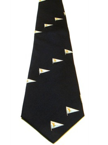 Royal Corps of Signals Yacht Club Silk Tie