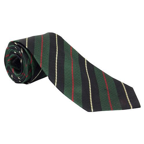 Royal Irish Rangers Silk Non Crease Tie