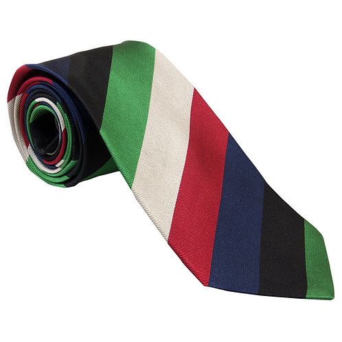 9 Regiment Royal Logistic Corps Silk Tie