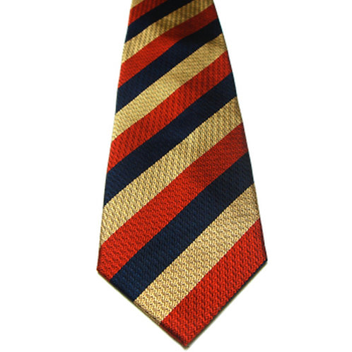 Light Dragoons Silk Non Crease Tie