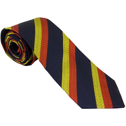 15th/19th King's Royal Hussars Silk Non Crease Tie