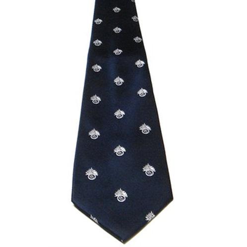 Royal Regiment of Fusiliers Crest Silk Tie