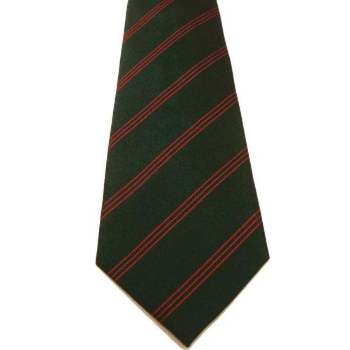 King's Royal Rifle Corps Silk Tie