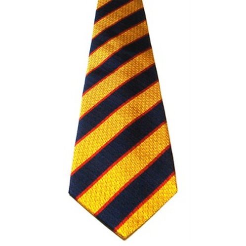 Princess of Wales's Royal Regiment Officers Club Silk Non Crease Tie