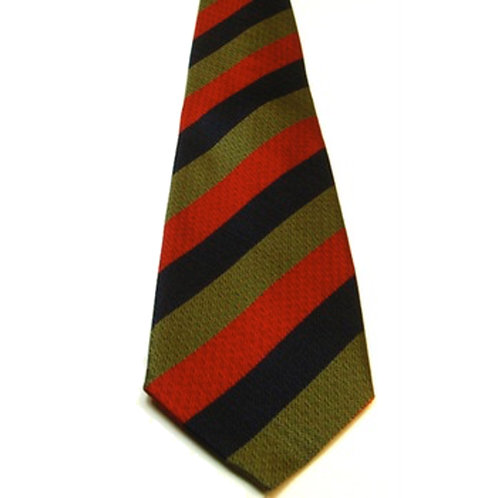 Royal Scots Silk Non Crease Tie