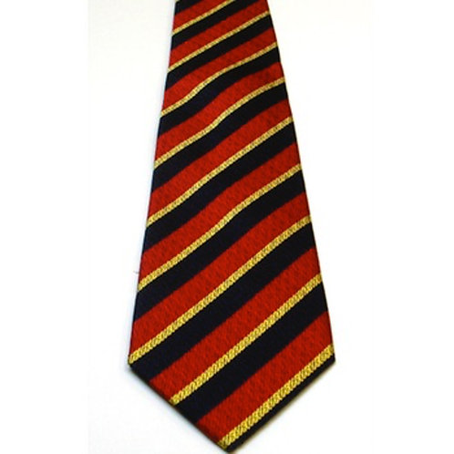 Honourable Artillery Company (HAC) Medal Colours Silk Non Crease Tie