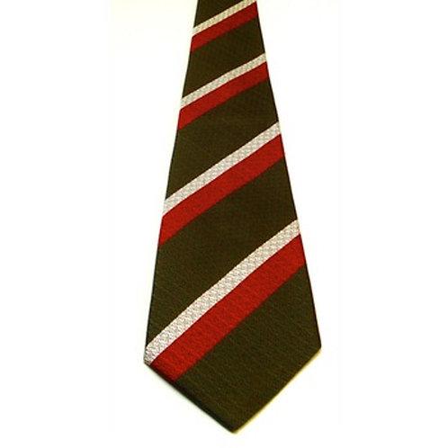 Royal Regiment of Wales Silk Non Crease Tie