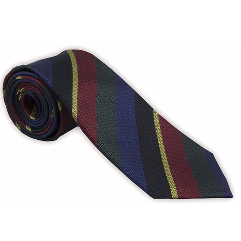 Honourable Artillery Company (HAC) Warrant Officer Silk Non Crease Tie
