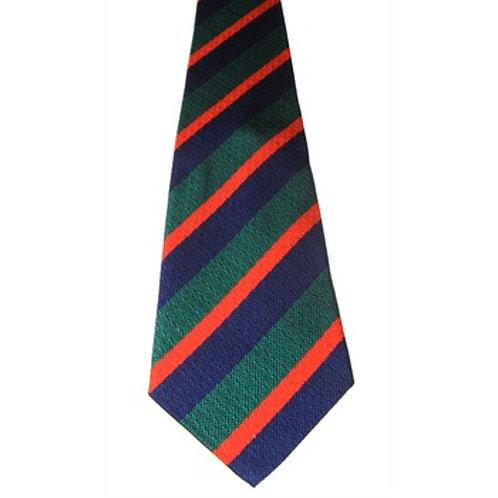 Royal Irish Regiment Silk Non Crease Tie