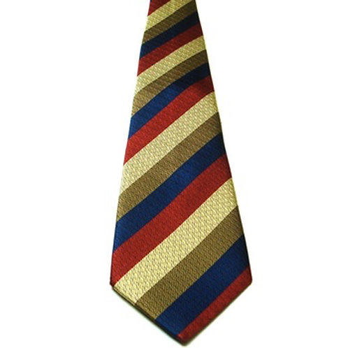 Royal Reg of Fusiliers Assoc. Silk Non Crease Tie