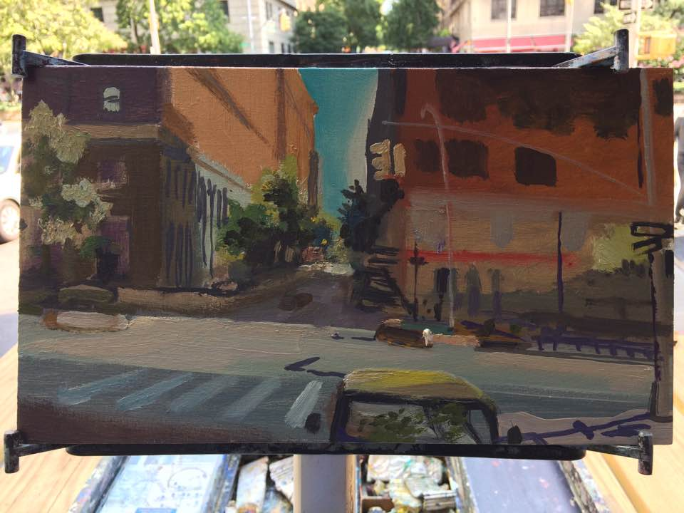 Sunday Painting ~ Broadway and W89