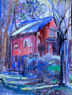 Red Barn for Terry