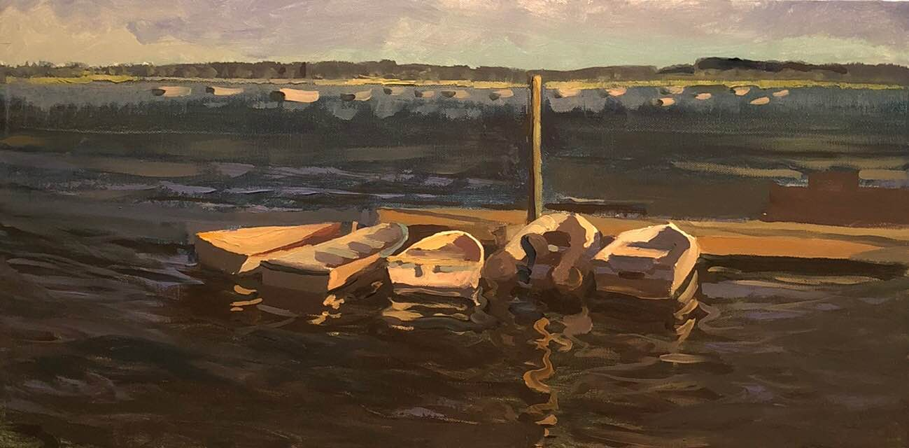 Sunset Dinghies, Welfleet 2016