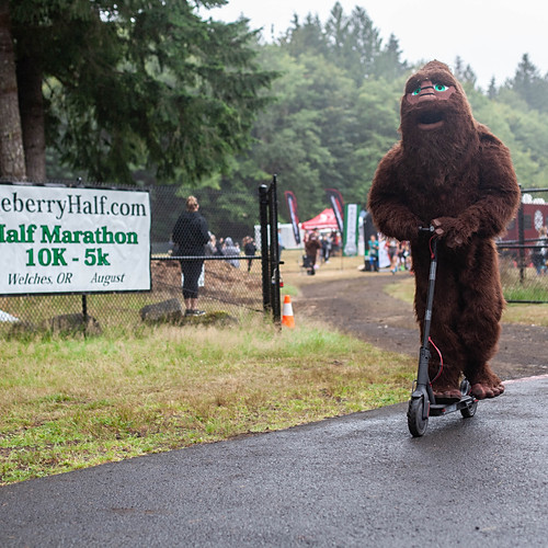 Huckleberry Half Start/Finish 2019
