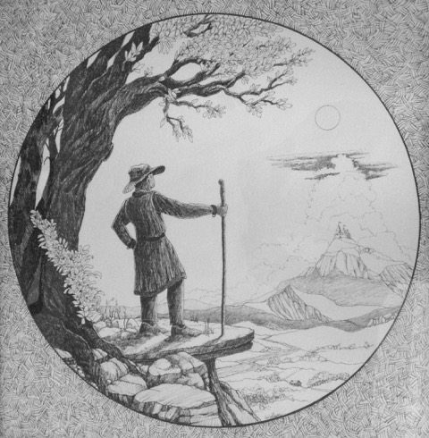 """A_Pilgrim_Searching_for_His_Homeland""_and_are_graphite.__2"
