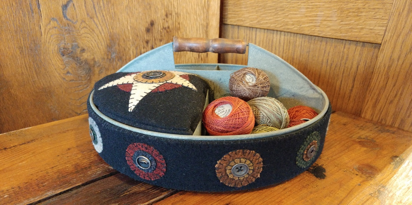 wool caddy