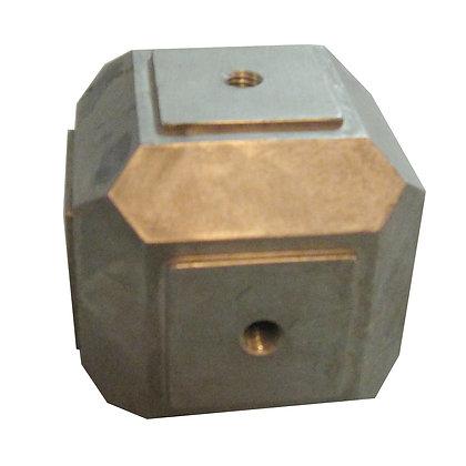 Casted Part AL Base Cube 10/3