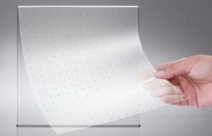 Transparent LED Film LED Glass