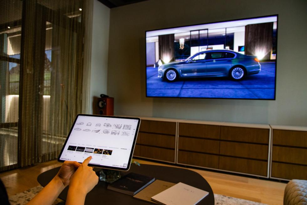 Innovative Interactive TV LED Screen