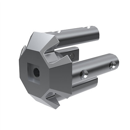 Casted Part Al Connector Cube 5/3
