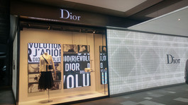 P3.91 LED Video Wall for Dior SS17 Windo