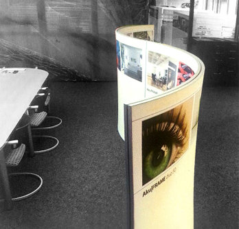 DS49 / DS50 Curved Stand Poster