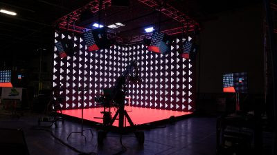 Extended Reality XR LED Wall Studio