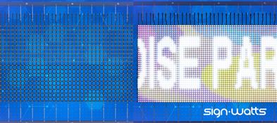 Transparent LED Mesh Screen LED Wall LED
