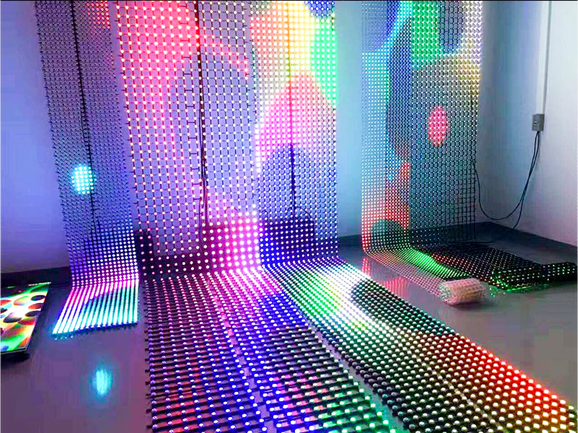 FG LED Mesh Transparent LED