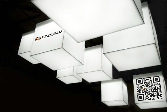 Exhibition Ceiling lightcube