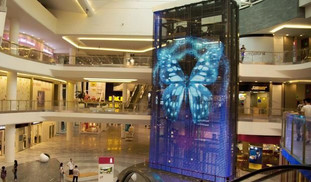 Transparent LED Wall for shopping mall Elevator.jpg