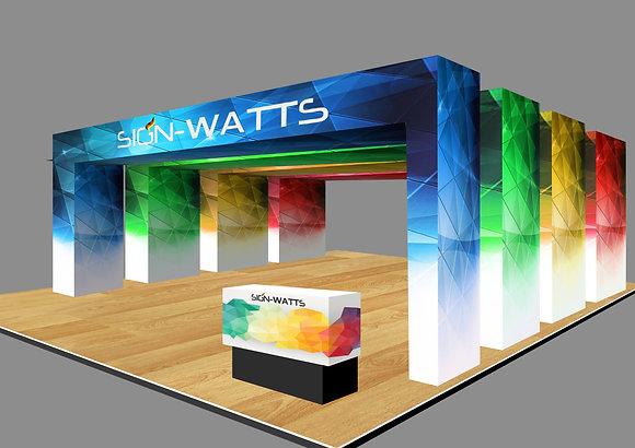 Archs Design Booth