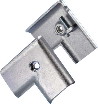 Corner Connector for 2-Channel Flat